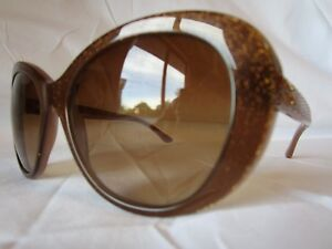 8cd0000fa1de7 Image is loading VERSACE-SUNGLASSES-VE4273-510813-GLITTER-OPAL-BROWN-56-