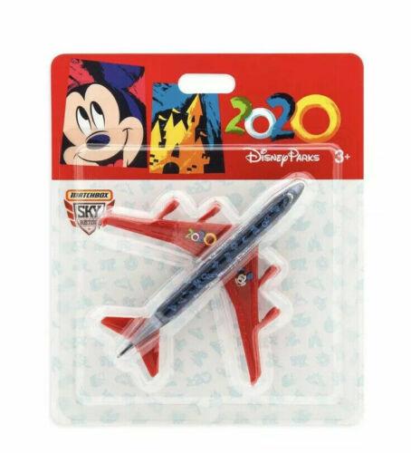 Disney World Parks 2020 Diecast Matchbox Logo Mickey Airplane Plane  NEW
