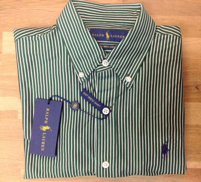Dress Striped Lauren Knit Size Xl Green Polo Shirt Merion Ralph O08kXnwP