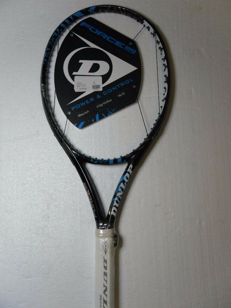 Dunlop Force 98 Tour Tenis Raqueta Agarre 4  1 4 2 últimos   moda