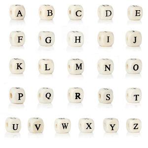 10-Stueck-Buchstabenperlen-Buchstabenwuerfel-Perlen-Buchstaben-Holz-Waehlbar