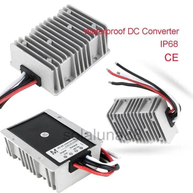 Waterproof Big-Size DC-DC Step Down/Up Booster Power Supply Converter Regulator