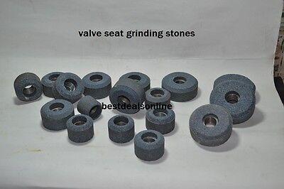 17 VALVE SEAT GRINDING STONES SET BLACK /& DECKER GREY 80 GRIT