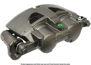 Disc Brake Caliper-Unloaded Caliper with bracket Front Left Cardone Reman