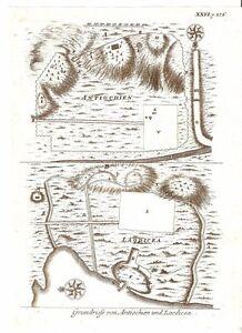 Antique-map-Grundriss-von-Antiochien-und-Laodicea