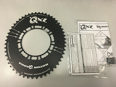 Rotor Q-Rings Bcd110x5 50T Outer Chainring Black