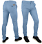 Mens-Skinny-Fit-Stretch-Chino-Trousers-Casual-Flat-Front-Super-Skinny-Pants miniatura 10