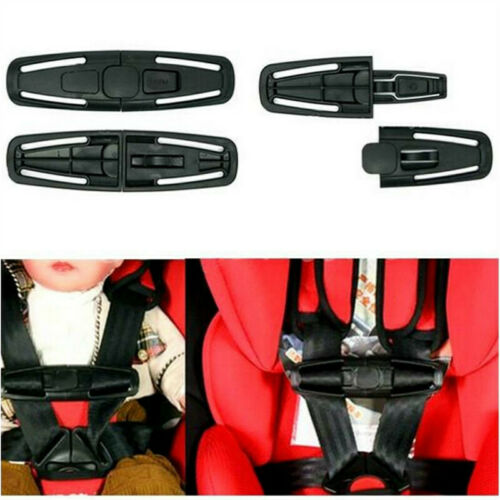1PC Car Baby Safety Seat Strap Belt Harness Knot Safe Lock Car Child Clip Buckle