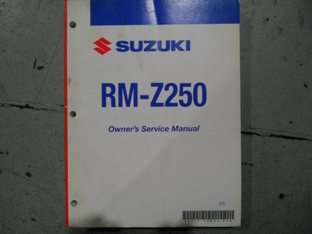 2008 Suzuki Rm