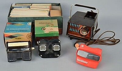 COLLECTION OF VINTAGE VIEW MASTERS AND PICTURE REELS