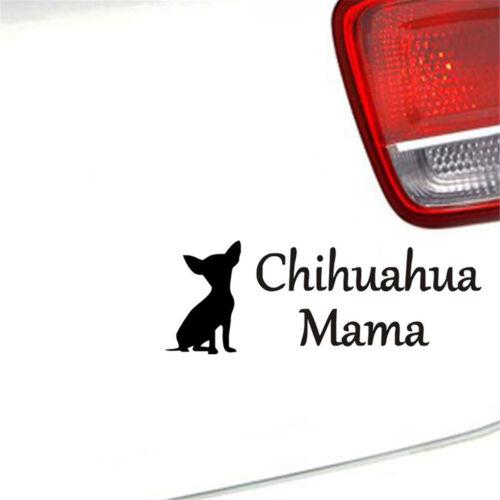Funny Chihuahua Mama Dog Sticker Car Truck Bumper Laptop Window Vinyl Decal
