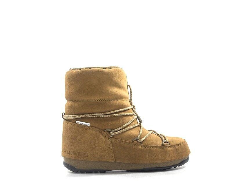 Chaussures MOON démarrage femme marron Nature Cuir 240083-004