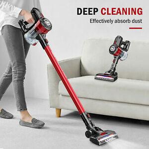 ONSON 20000Pa Cordless Handheld Stick Car Vacuum Cleaner Upright LED Floor Brush