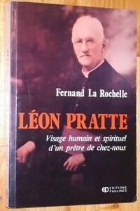 Fernand-La-Rochelle-LEON-PRATTE-pretre-Sainte-Hyacinthe-Quebec-Canada-biographie