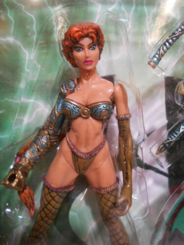 Lot of 4 ~ ~ ~ Top Cow 1998 Witchblade Action Figures