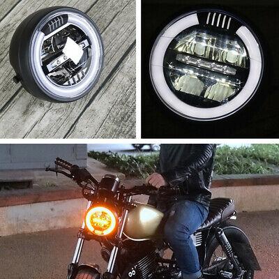 "6.8/"" Motorcycle Dirt Bike Hi//Lo Beam White LED Headlight Driving Lamp Waterproof"
