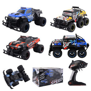 Funk-Ferngesteuert-Auto-Fahrzeug-Gelaendewagen-Jeep-Buggy-Monstertruck-High-Speed