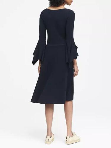 NWT Banana Republic New $138 Women Handkerchief-Sleeve Sweater Dress PXS,XS,PS,S
