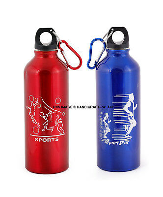 88 oz Large Water Bottle Sports Gym Camping Jug Carry Handle Leak Proof