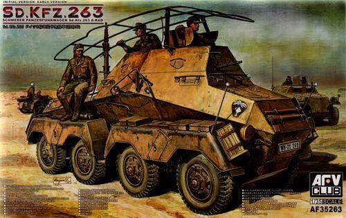 AFV Club 1  35 Sd.Kfz.263 Schwer Panzerfunkwagen Early Version AF35263