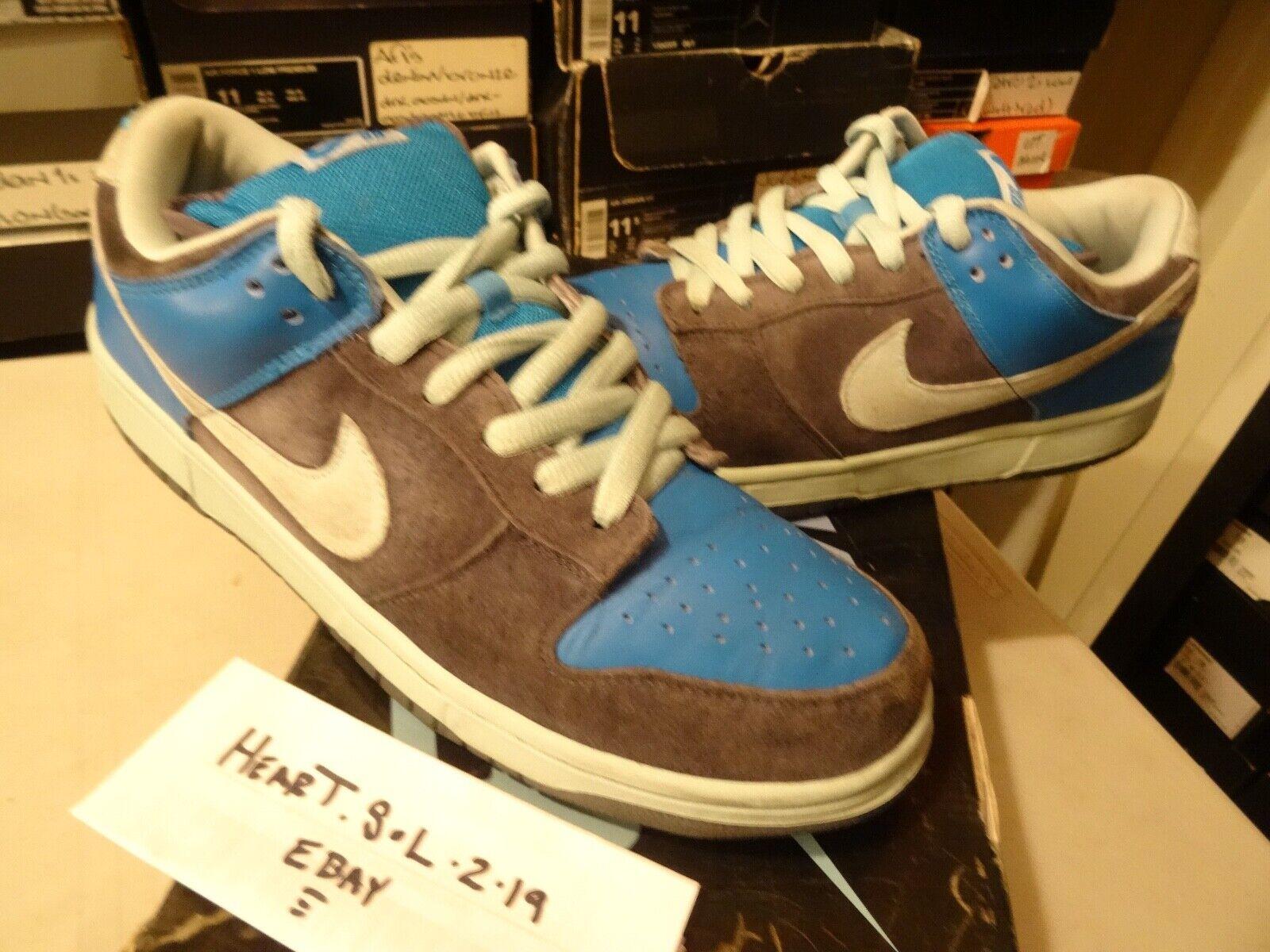 Nike Dunk Low Pro SB 'Aqua Chalk' Ash Aqua-Chalk 304292 032 SZ 13 OG RARE