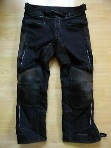 Motorradhose-Polo-Mohawk-Textil-Herren-Gr-XL-kurz-inkl-Innenhose-Protektor