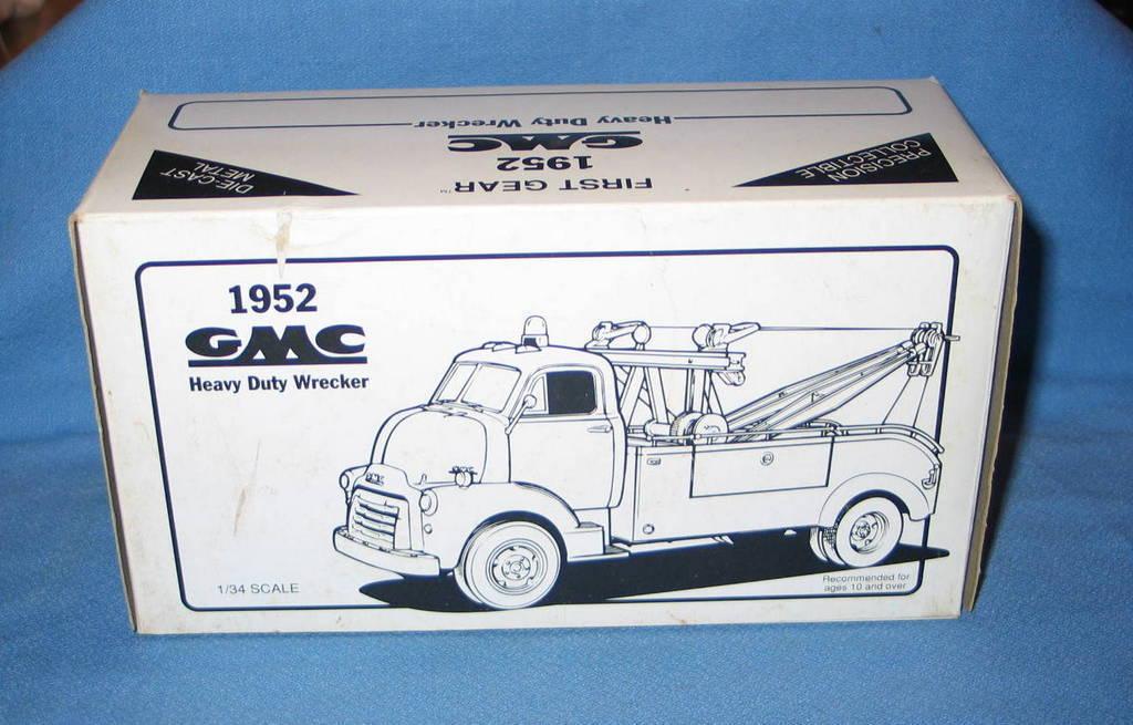 Vuelta de 10 dias First Gear 1952 GMC ventas Heavy Heavy Heavy Duty grúa 1 34 escala  10-1035  venta al por mayor barato