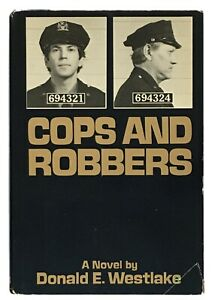 Donald-E-Westlake-Cops-and-Robbers-SIGNED-FIRST-EDITION