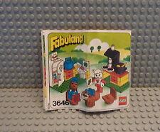 LEGO® Fabuland 3646 Kitchen, Küche mit Cathy Katze und Willem Walroß, TOP WARE