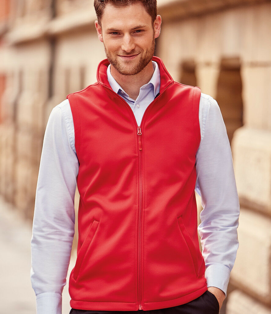 Russell -  Herren Smart SoftShell Gilet - 041M - Wind And Shower Resistant
