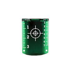 Linestorm magnetico Target LASER verde per l'uso con i livelli laser | Linea Laser