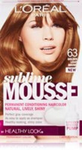 Item 1 Lu0027Oreal Healthy Look Sublime Mousse Hair Color, 63 Golden Light Brown   Lu0027Oreal Healthy Look Sublime Mousse Hair Color, 63 Golden Light Brown