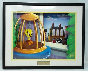 1998-Looney-Tunes-Animated-ANIMATIONS-Tweety-Sylvester-CERTIFIED-Moving-Picture
