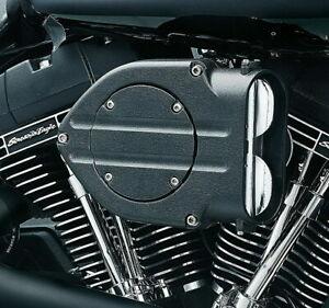 Kuryakyn-9981-Blood-Groove-Hypercharger-Wrinkle-Black-for-Harley-Evo-Big-Twin