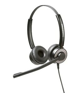 Addcom-ADD-55-Executive-Binaural-Headset-ADD55-New-in-Box