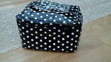 SUPER.  AGNES B. Rockabilly POLKA DOTS  Punkte Kosmetiktasche Retro Cosmetic Bag