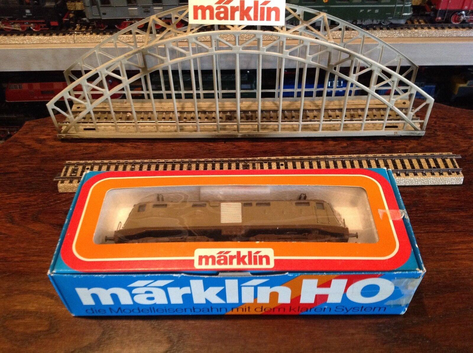 Marklin HO 3035 Electro Loco ferrocarril italiano hecho en Alemania W