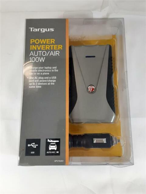NEW Targus Power Inverter Auto / Air Slimline 100W (APV10US1)