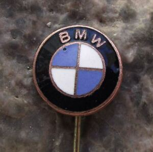 Antique Bmw German Automobile Series Motors Logo Car Advertising Pin Badge Ebay