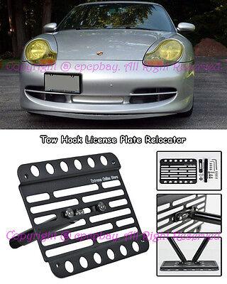 00-05 For Porsche Carrera 996 C4S Turbo GT2 GT3  Tow Hook License Bracket Plate