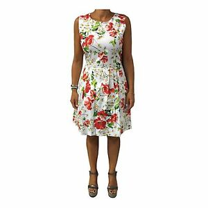 Fee Maraboutee Robe 97 Made Coton Élasthanne La In 3 Rouge Italy Femme Blanc dgURqxw