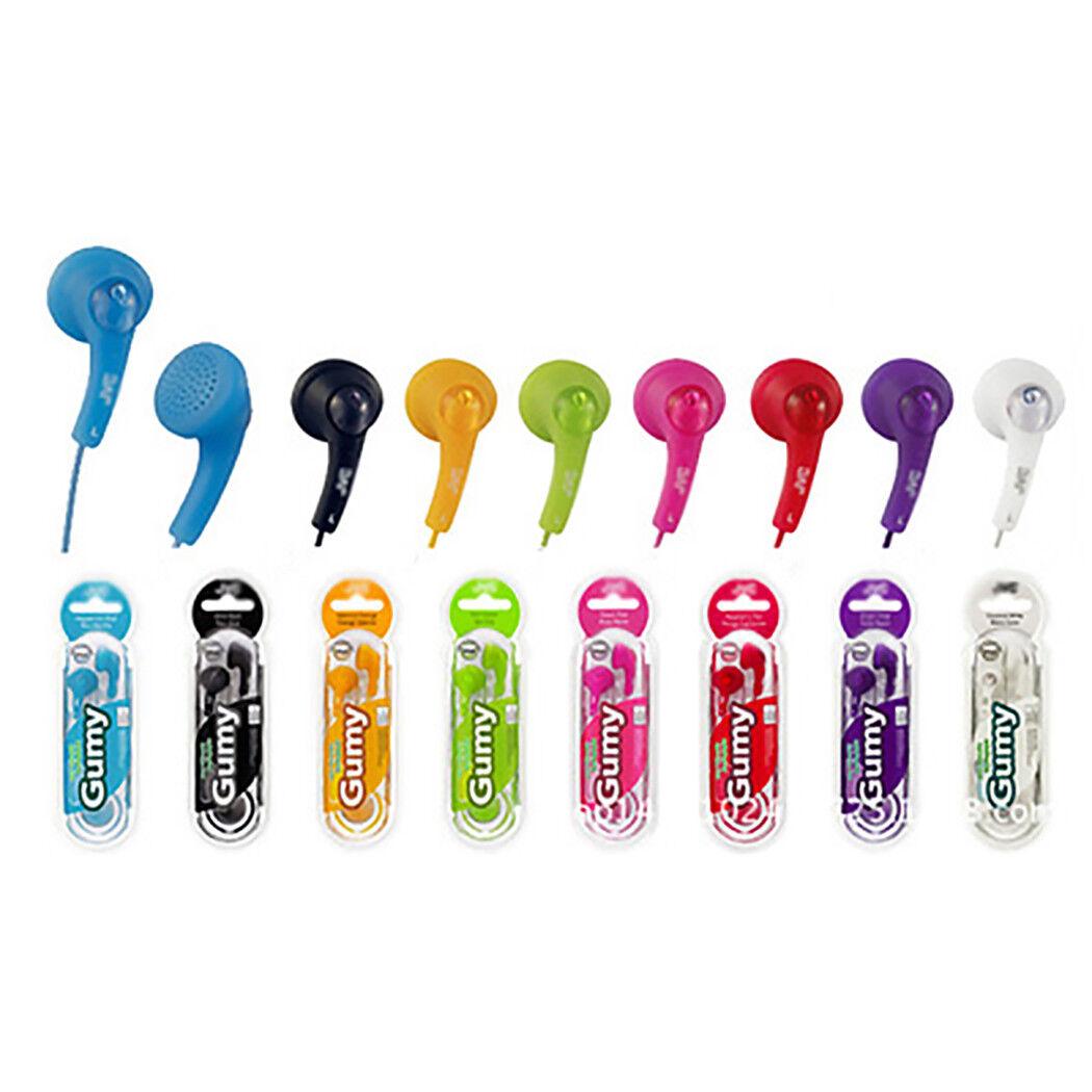 NEW Gumy Gummy HA-F150 In-Ear Canal Earbuds Headphones Earph