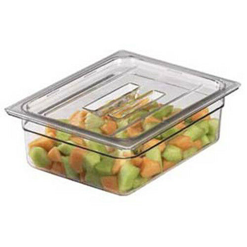 Clear Cambro Camwear 10CWCH135 Food Pan Lid 1//1 Cover with Handle