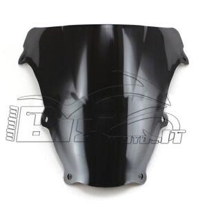 Cupolino Plexiglas Per Suzuki Sv650 Sv1000 2003-2009 Doppia Bolla Scuro