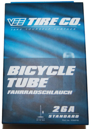 Bicycle Tube Fahrradschlauch 26A Standart universal 26 x 3,0-4,25 Vee Tire CO