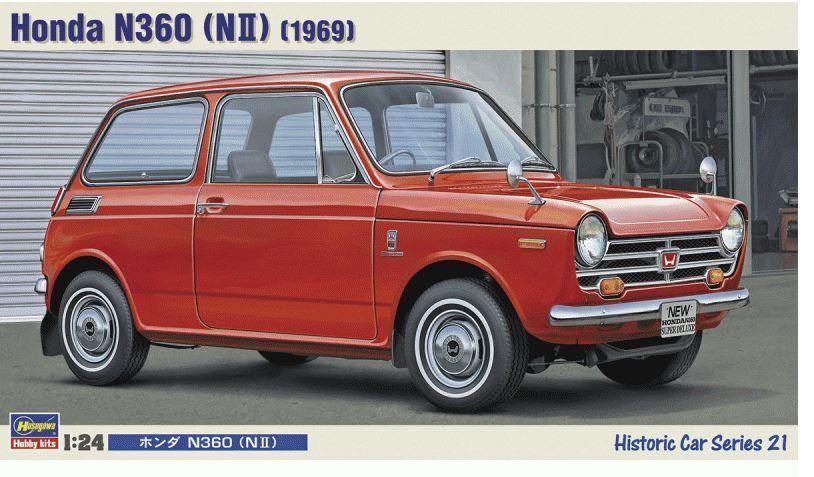 Hasegawa Model Kit - 1 24 Honda N360