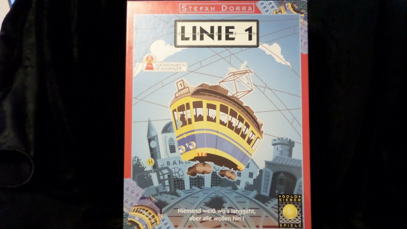 Linie 1 - Imported by Mayfair, trolley navigation game - see description & photo