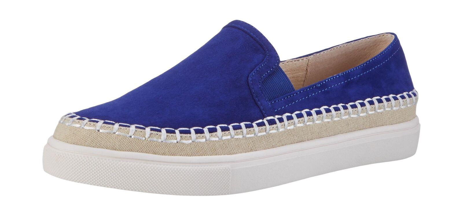 Buffalo donna 15bu0229 Kid Camoscio Mocassini Blu (blu 00) 6.5 UK | Imballaggio elegante e robusto  | Sig/Sig Ra Scarpa