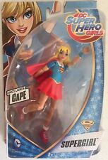 "Mattel/'s DC Super Hero Girls SUPERGIRL 6/"" Figure w// CAPE New in Package"