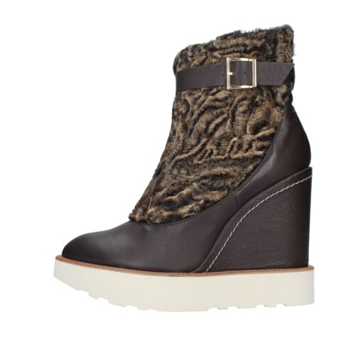 femmes Paloma Bottines plateforme Amf14 Marron Barcelᄄᄚ ᄄᄂ palo pour Chaussures gyIbfvY76